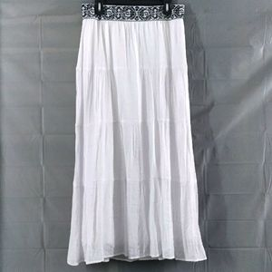 I.N.studio boho maxi skirt